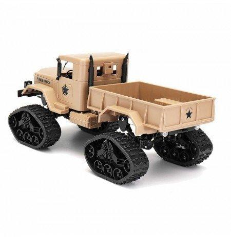 Ciężarówka wojskowa Goolsky 1:16 2.4GHz RTR - żółta
