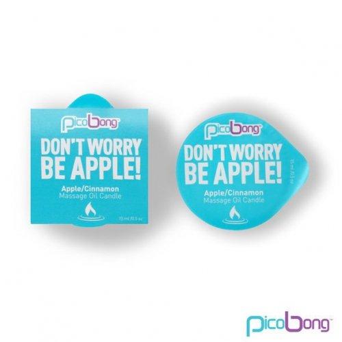 PicoBong - Świeca do masażu - Apple & Cinnamon Massage Oil Candle