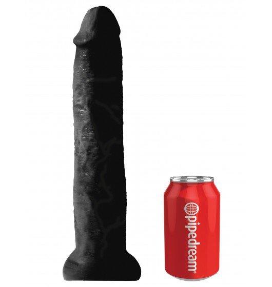 "King Cock 13"" Cock Black"