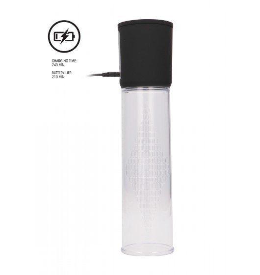 Automatyczna pompka próżniowa Shots Pumped Premium Rechargeable Automatic Pump Transparent