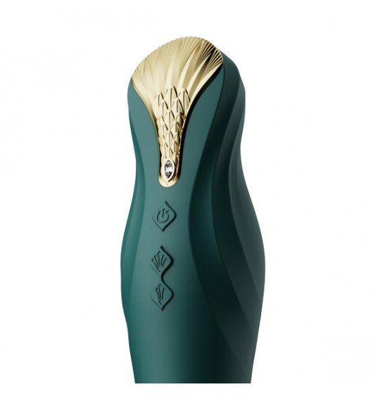 Wibrator Zalo King Thruster Turquoise Green