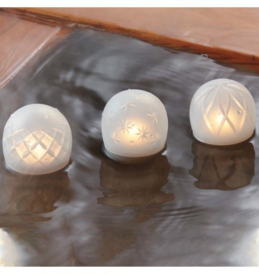 Iroha by Tenga Ukidama Bath Light & Massager Hana