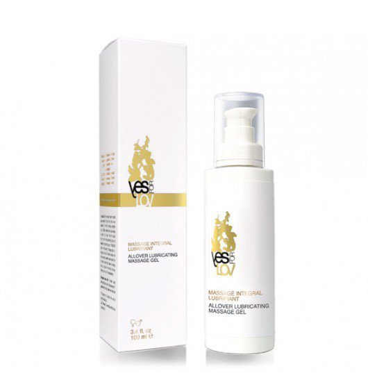 YESforLOV Allover Lubricating Massage Gel 100 ml
