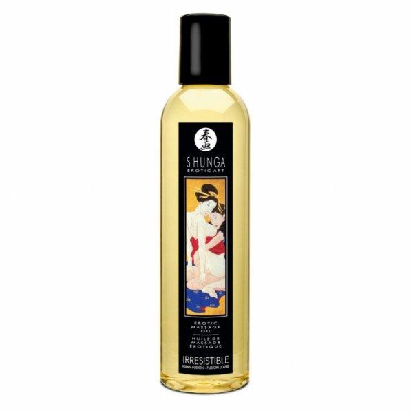 Olejek do masażu - Shunga Massage Oil Irresistible Asian Fruits Nieodparty