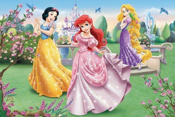 24 elementy Maxi, Princess przy fontannie