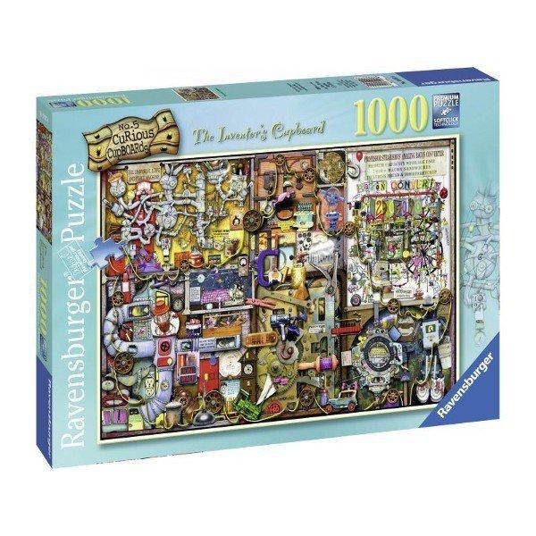 Puzzle 1000 elementów Kredens Wynalazcy