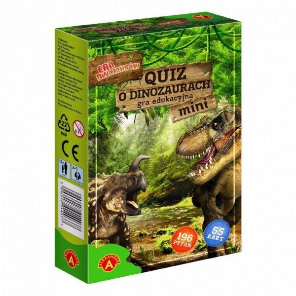 Gra Qiuz o dinozaurach mini