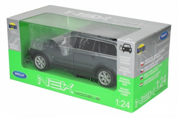 Volvo XC90, grafitowy