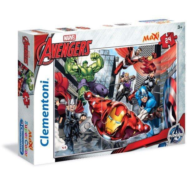 24 ELEMENTY MAXI The Avengers