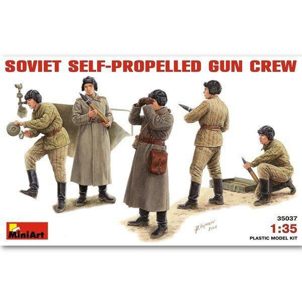 MINIART Soviet S-P Gun C rew