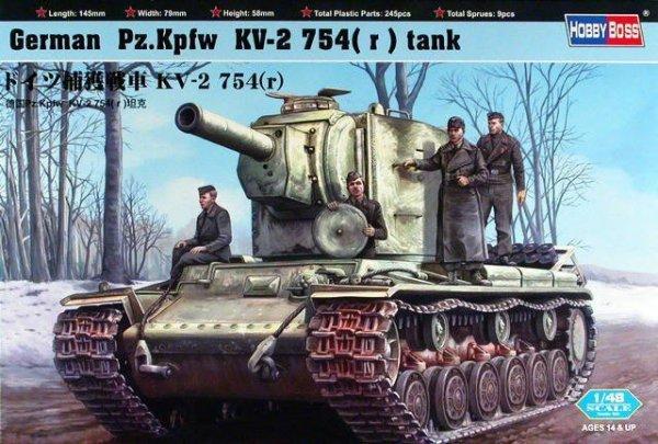 German Pz.Kpfw KV-2 754(r)