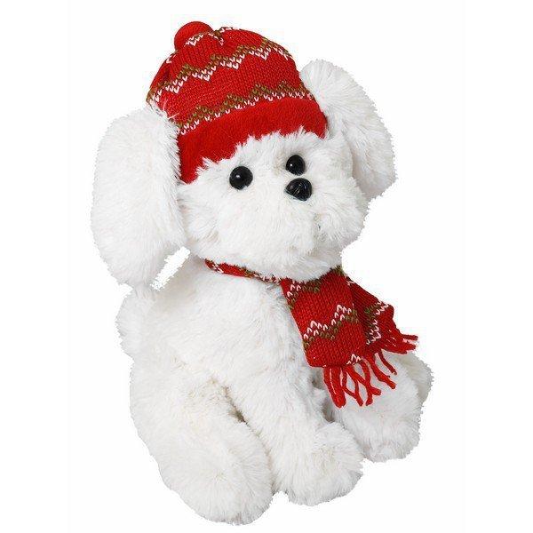 Pies Kacper 32 cm w czapce