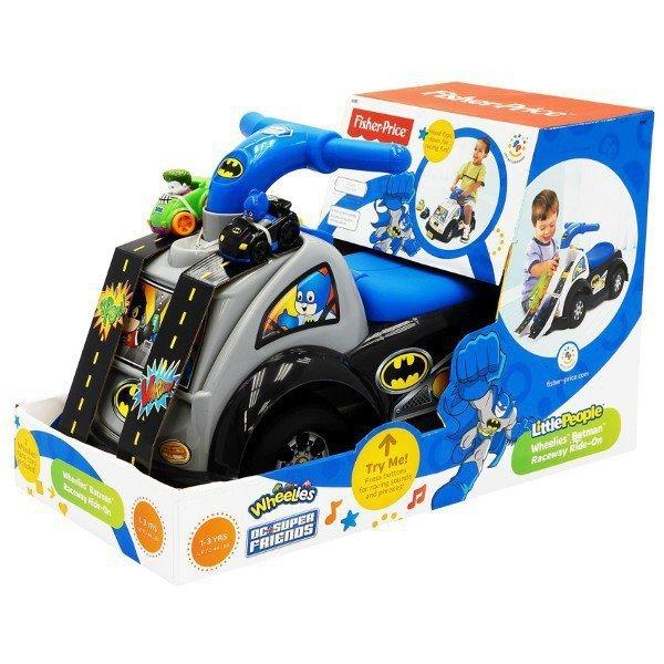FISHER PRICE Jeździk wyścigówka Batman