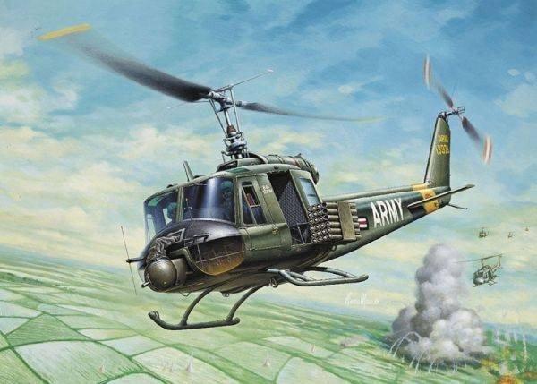 Model plastikowy UH-1B Huey