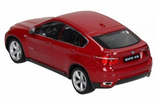 BMW X6, czerwony