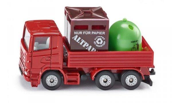 Ciężarówka z Pojemnikiem na odpady