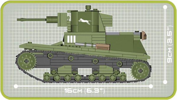 Klocki Mała Armia Czołg Lekki 7 TP