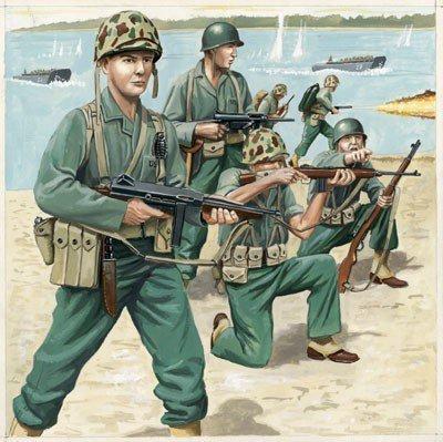 REVELL US-Marineinfanter ie WW II