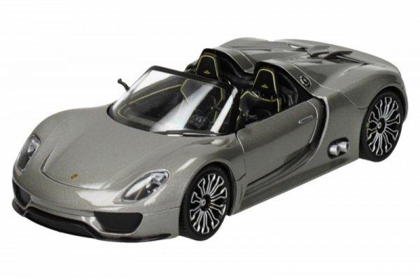 Porsche 918 Spyder, srebrny