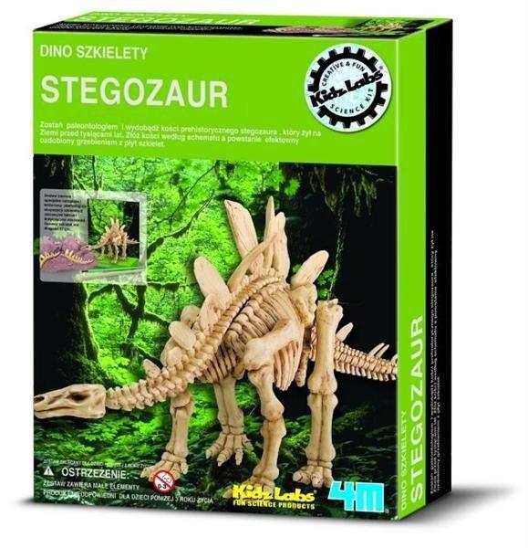 Wykopaliska Stegosaurus