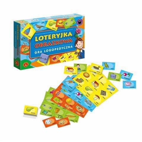 Gra Loteryjka Obrazkowa Logopedyczna