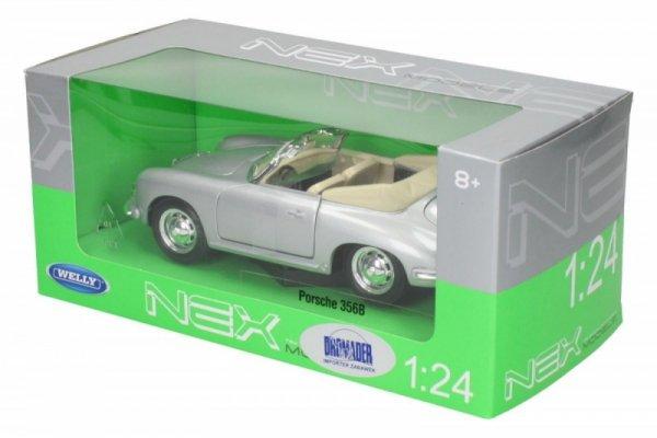 Porsche 356B, srebrne