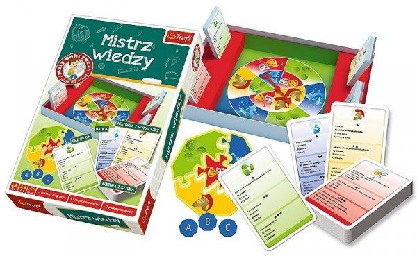 Gra Mistrz Wiedzy - Mały Odkrywca idzie do szkoły