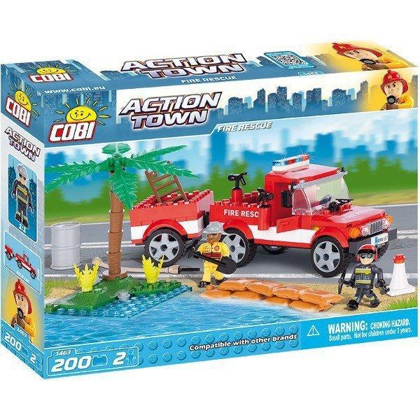 Klocki Fire Rescue Team 200 elementów / 2 figurki