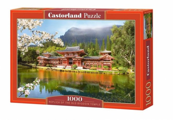 Puzzle 1000 elementów. Replica of the Old Byodoin Temple