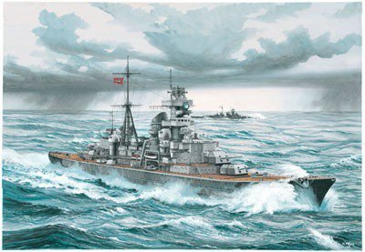 REVELL German Heavy Crui ser Prinz Eugen