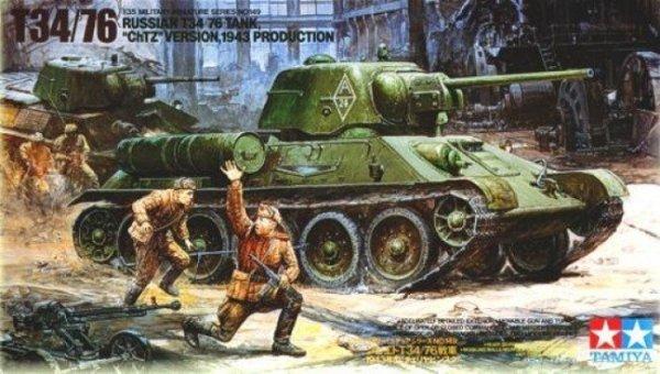 Russian T34/76 Ch TZ