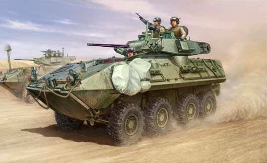 TRUMPETER LAV-A2 8x8 Arm oured Vehicle