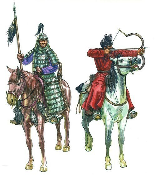 Chinese Cavalry XIII Century