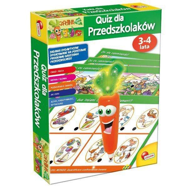 LISCIANIGIOCHI Qiuz dla przedszk.3-4 lat