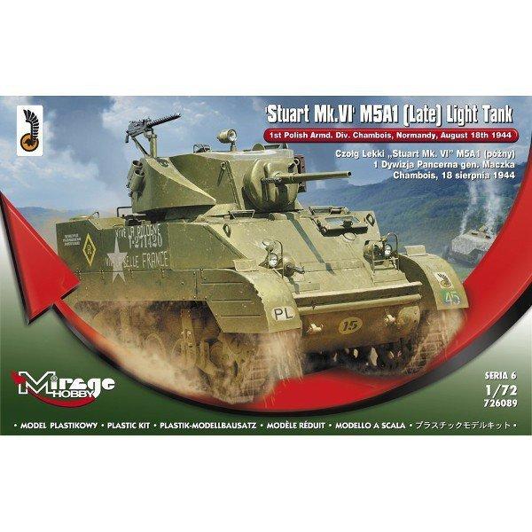 Czołg lekki Stuart MkVI M5A1
