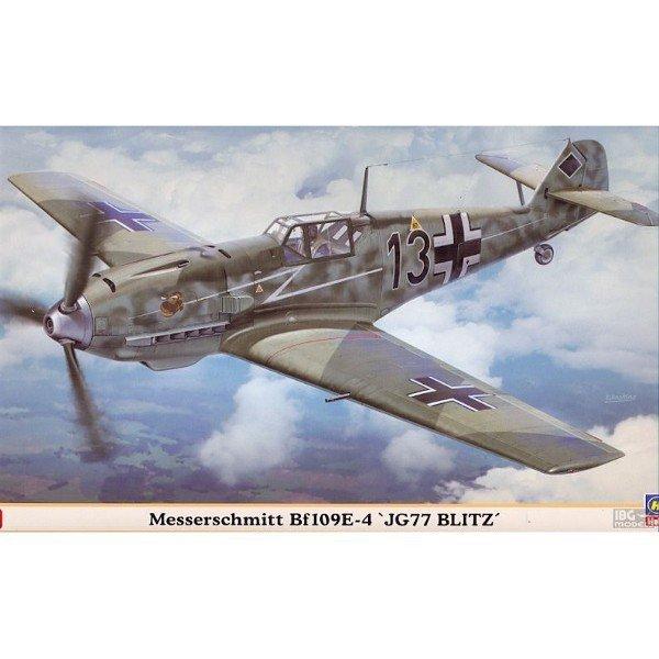 HASEGAWA BF-109E-4 JG77 Blitz