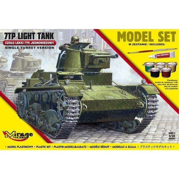 Polski lekki czołg 7TP set