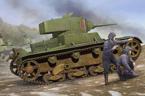 HOBBY BOSS Soviet T-26 L ight Infantry