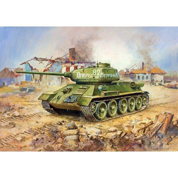 ZVEZDA T-34/85 Soviet Me dium tank