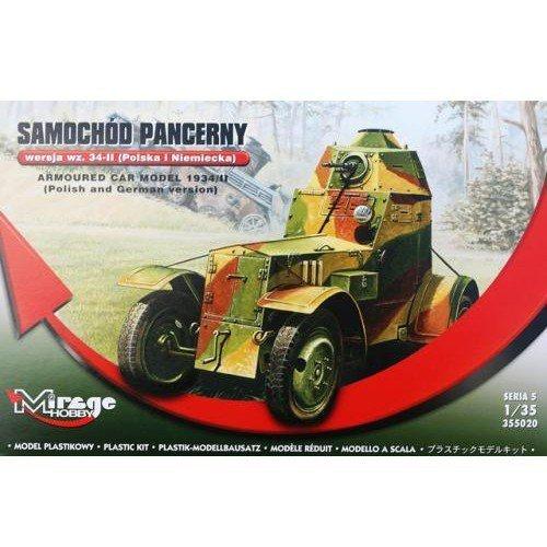 Model plastikowy Samochód Pancerny Wersja wz.34-II