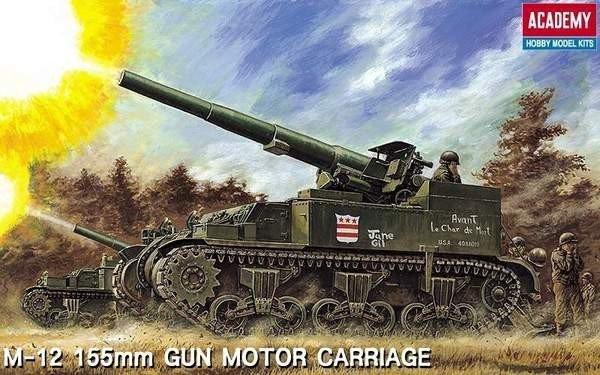 M-12 155mm Gun M otor Carriage