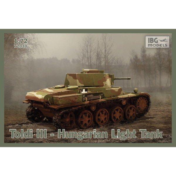 Toldi IIIa Hungarian Light Tank