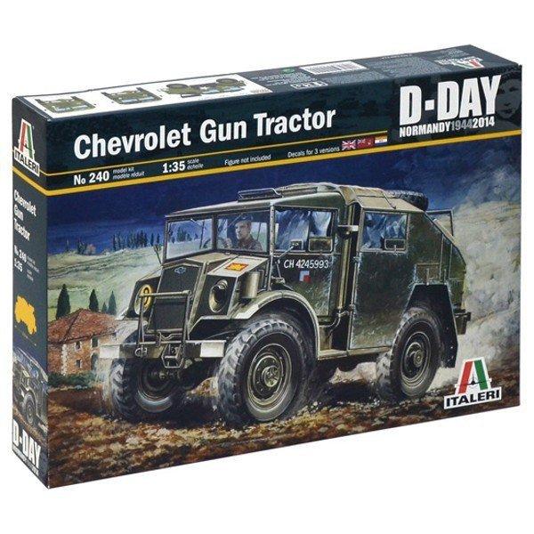 ITALERI Chevrolet Gun Tr actor D-Day