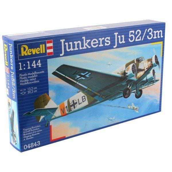 REVELL Model Set Junkers Ju52/3m