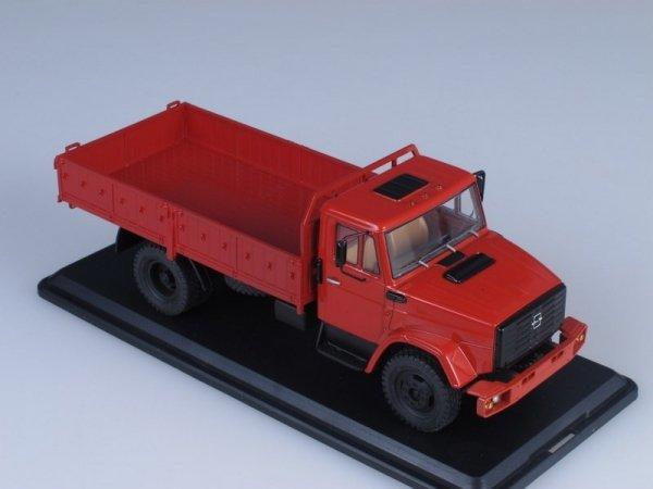 ZIL-4331 Flatbed Truck (dark red)