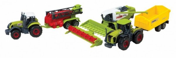 Zestaw maszyn rolniczych w pudełku