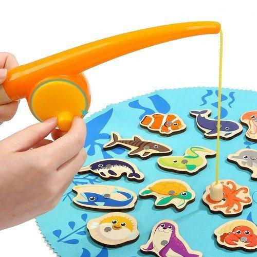 Gra Łowienie rybek w pudełku Top Bright