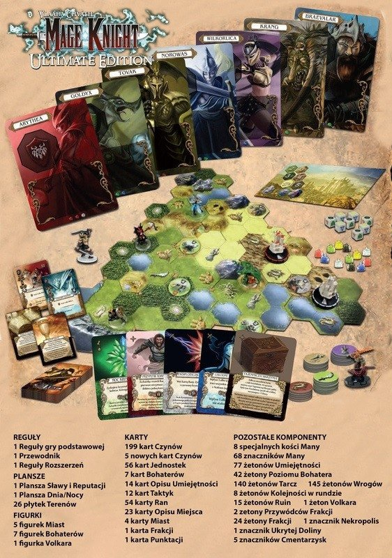 Gra Mage Knight Ultimate Edition (PL)