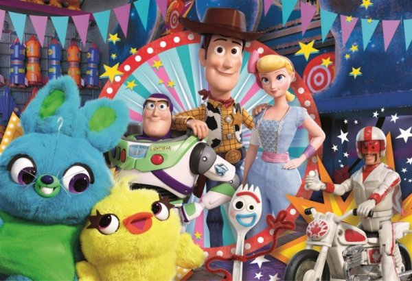 Puzzle 24 elementy Maxi Super Kolor Toy Story 4