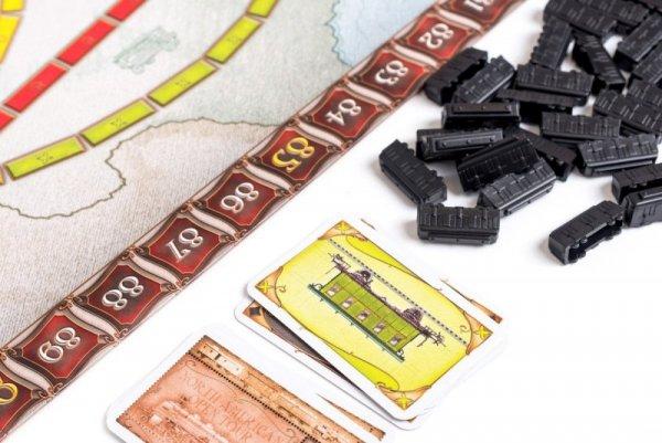 Gra Wsiąść do Pociągu USA